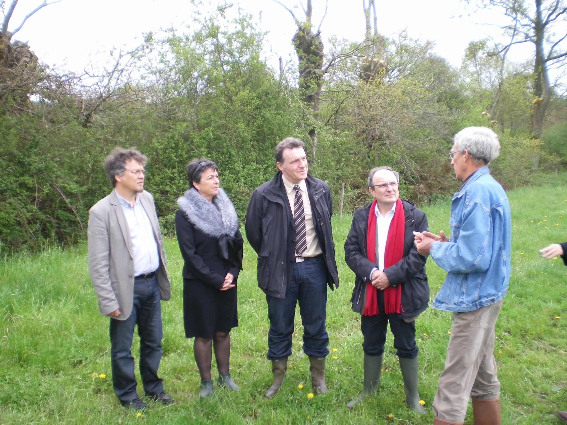 Nord mayenne signature d un contrat nature le blog d for Chambre agriculture mayenne