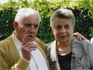 Georges et Cécile Prampart en 2008