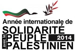 Dans sa résolution A/68/12   du 26 novembre 2013, l'Assemblée générale a décidé de proclamer 2014 Année internationale de solidarité avec le peuple palestinien