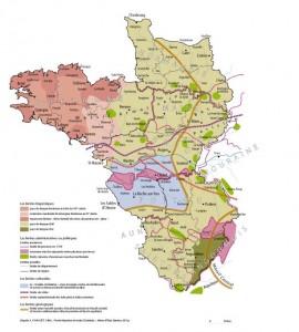 Les territoires de l'Ouest (atlas des campagnes de l'Ouest, Presses universitaires de Rennes)