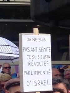 Manif Palestine Nantes 2 août 2014