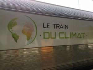 Train du climat Nantes