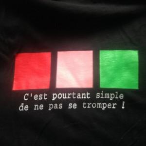 Rouge-Rose-Vert